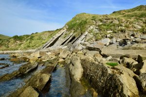 Folding at Lulworth Cove