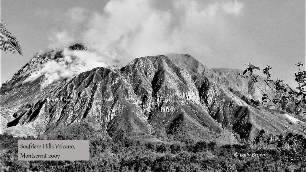 Soufriere Hills volcano 2007