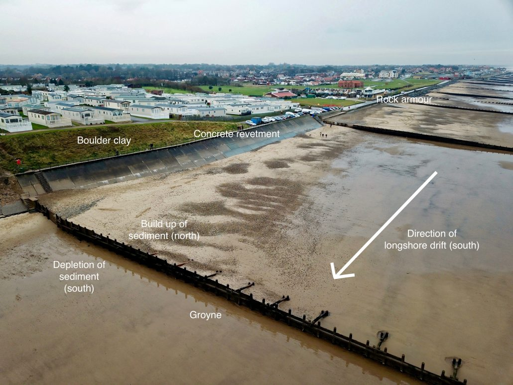 Coastal management at Hornsea