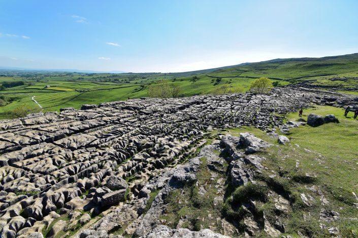 Limestone pavement Malham