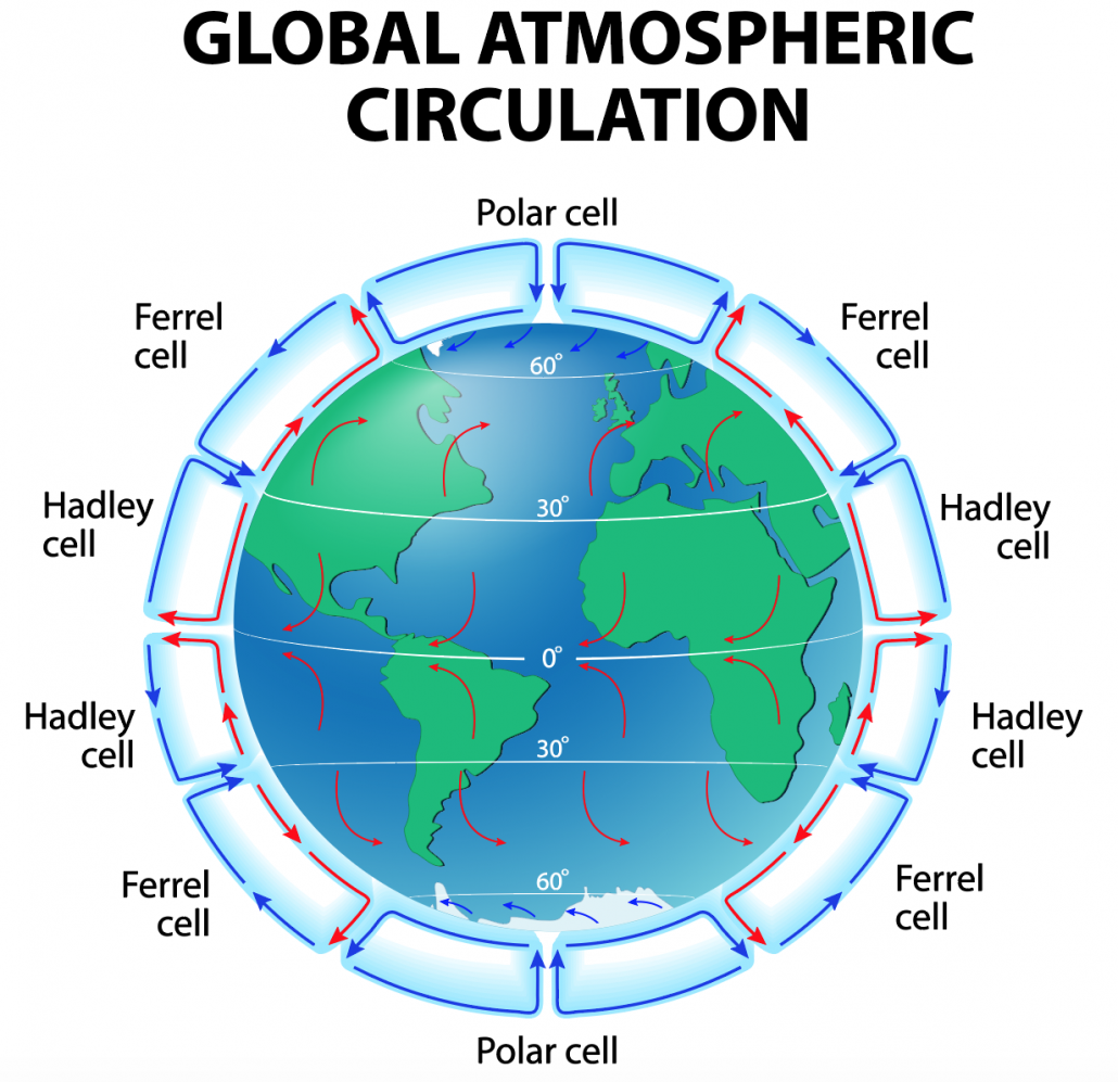 Global atmospheric circulation model