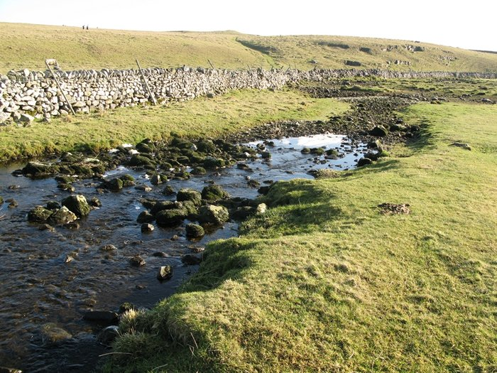 Water Sinks, a swallow hole close to Malham Tarn.