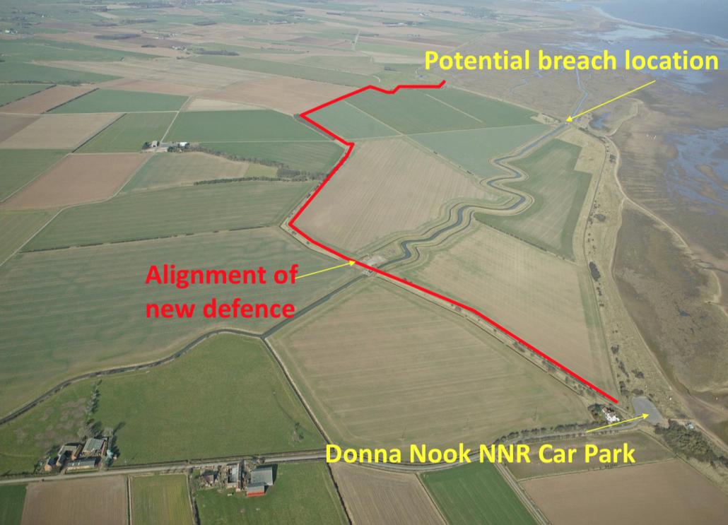 Coastal Realignment Donna Nook