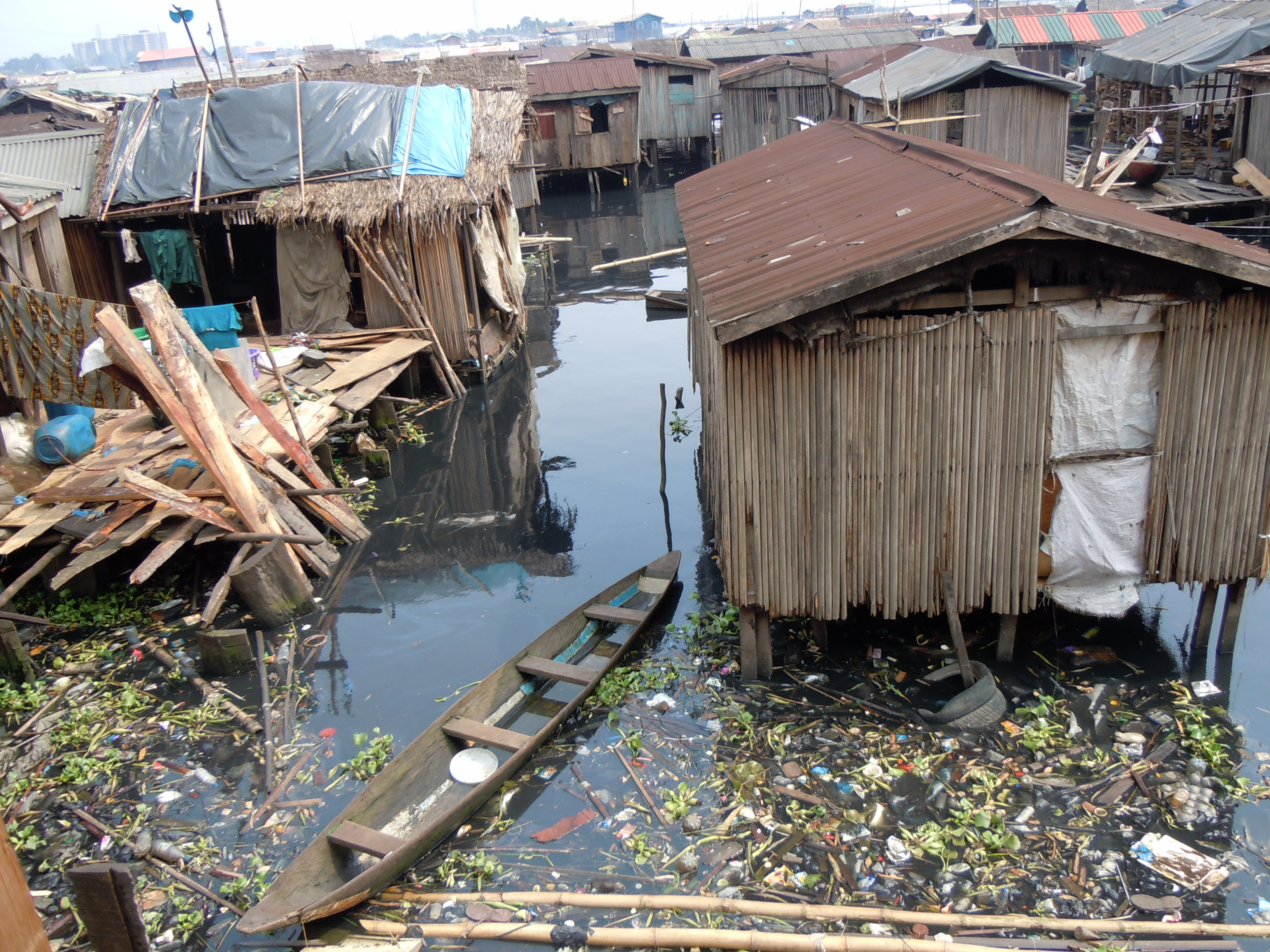Lagos Water Supply and Pollution - Internet Geography