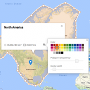 Colour customisation North America