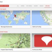 Explore existing maps