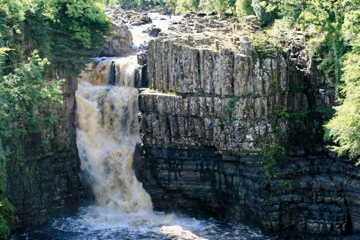 High Force waterfall on the River Tees