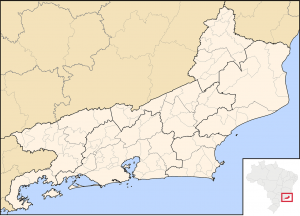 The location of Rio