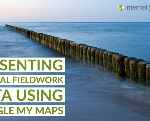 Coastal fieldwork and Google My Maps