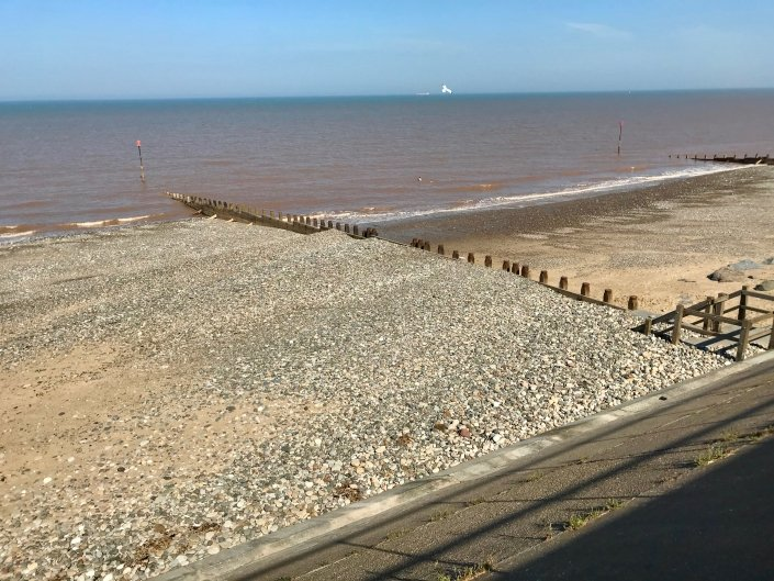 Berms at Withernsea