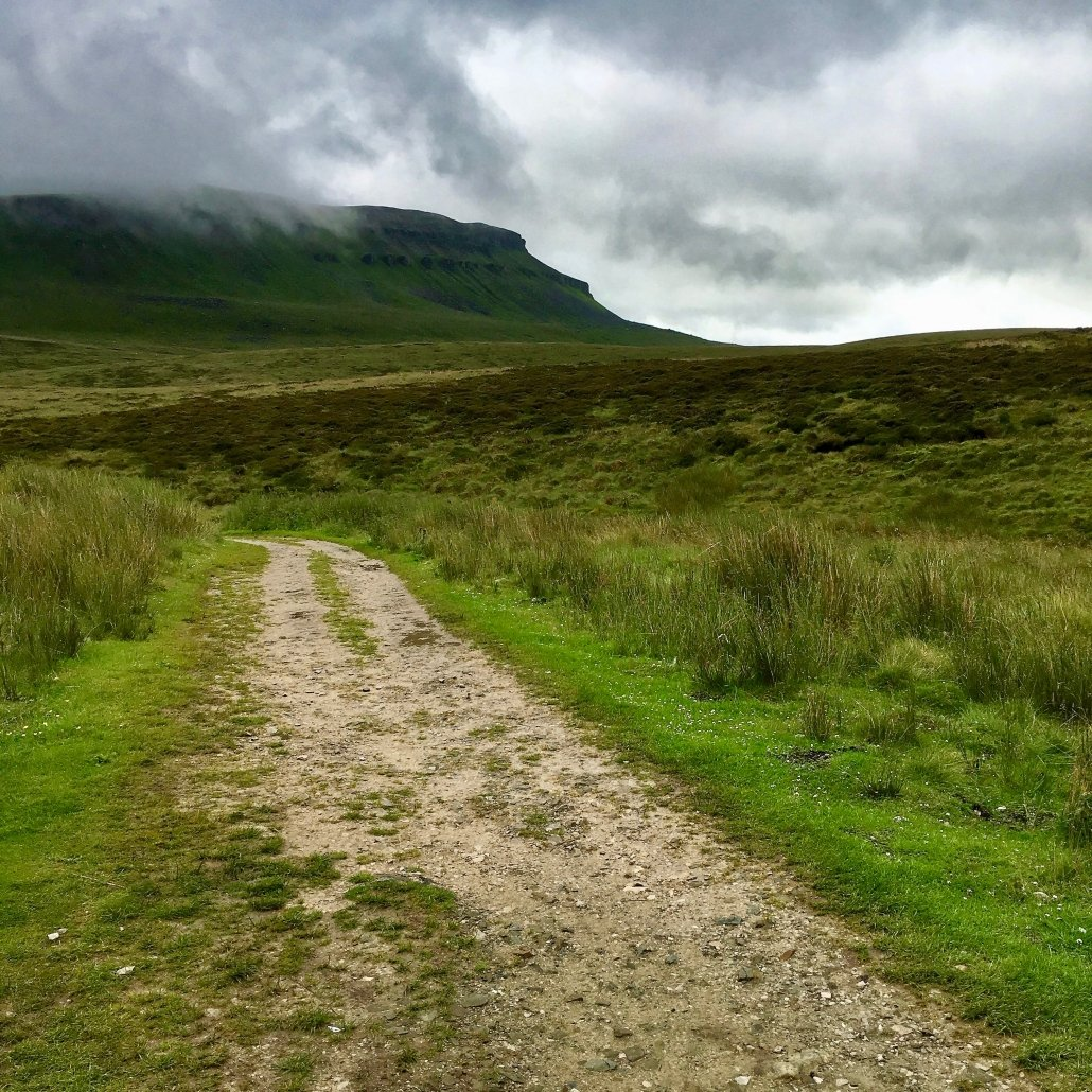 Pen-y-ghent and the Three Peaks footpath