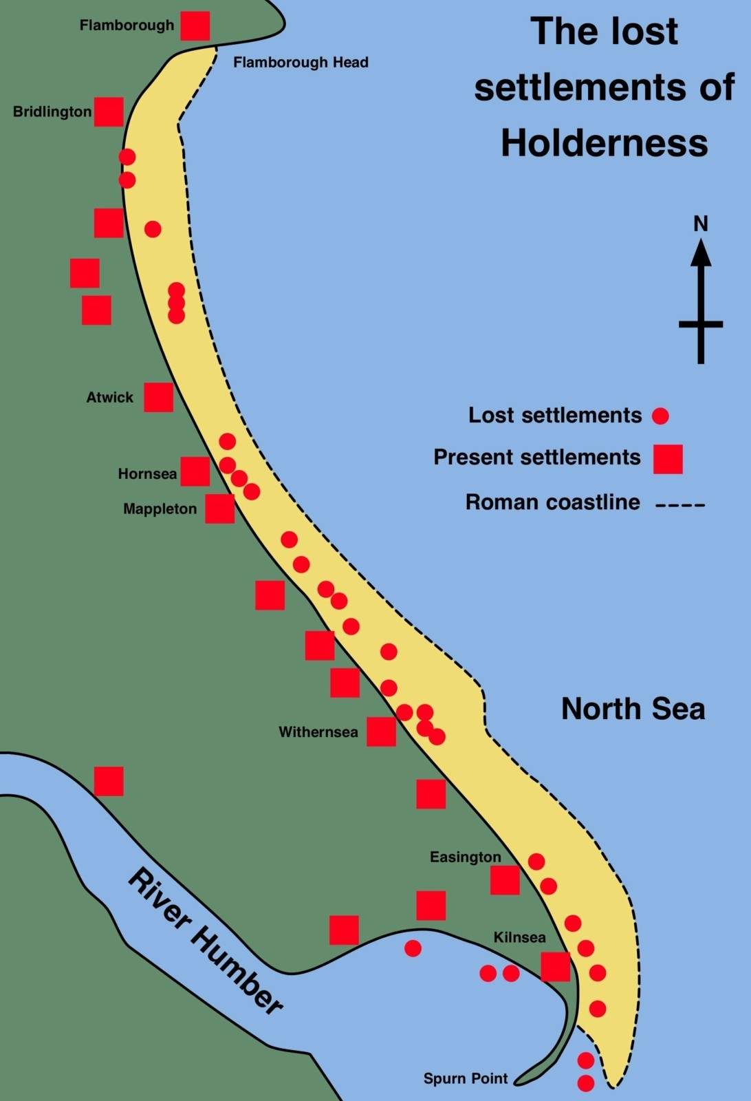 holderness coast landforms case study