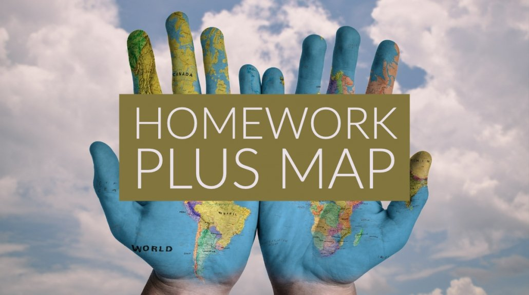 Homework Plus Map