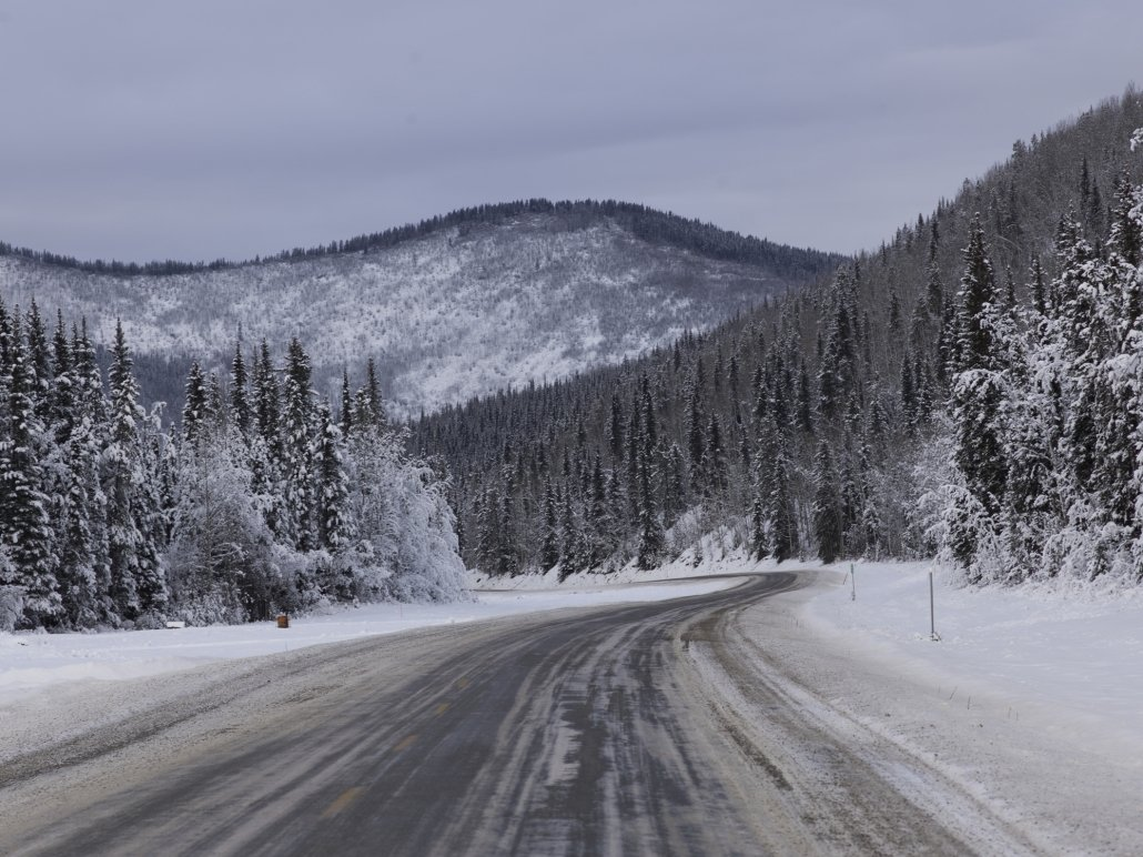 An Alaskan road