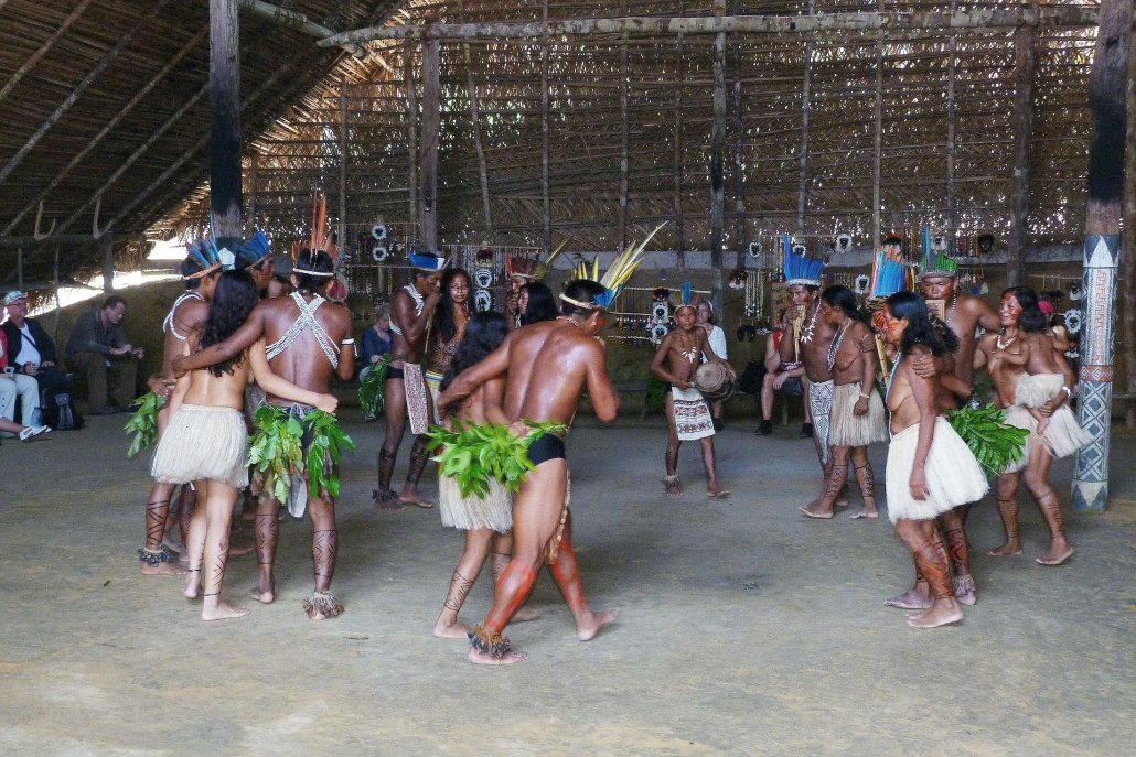 Indigenous tribe in the Amazon rainforest