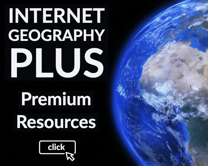 Internet Geography Plus