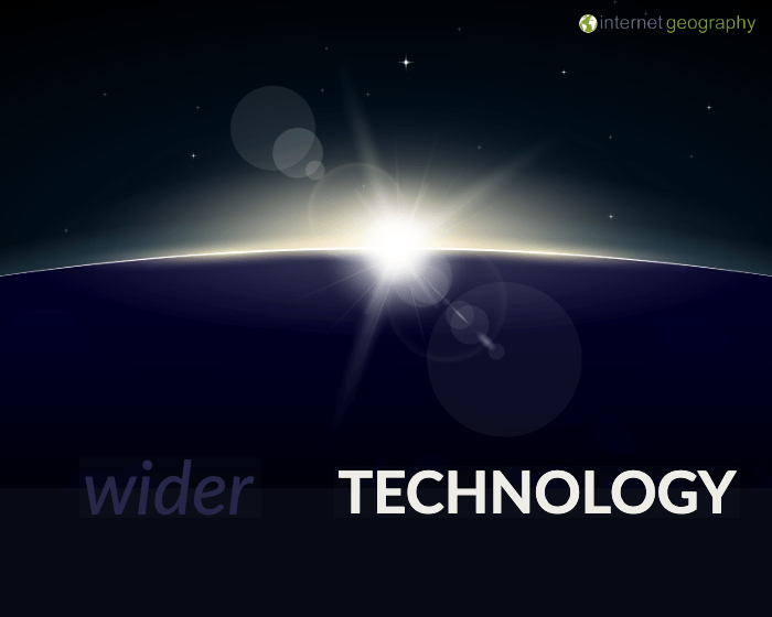 Wider Technology in Geography