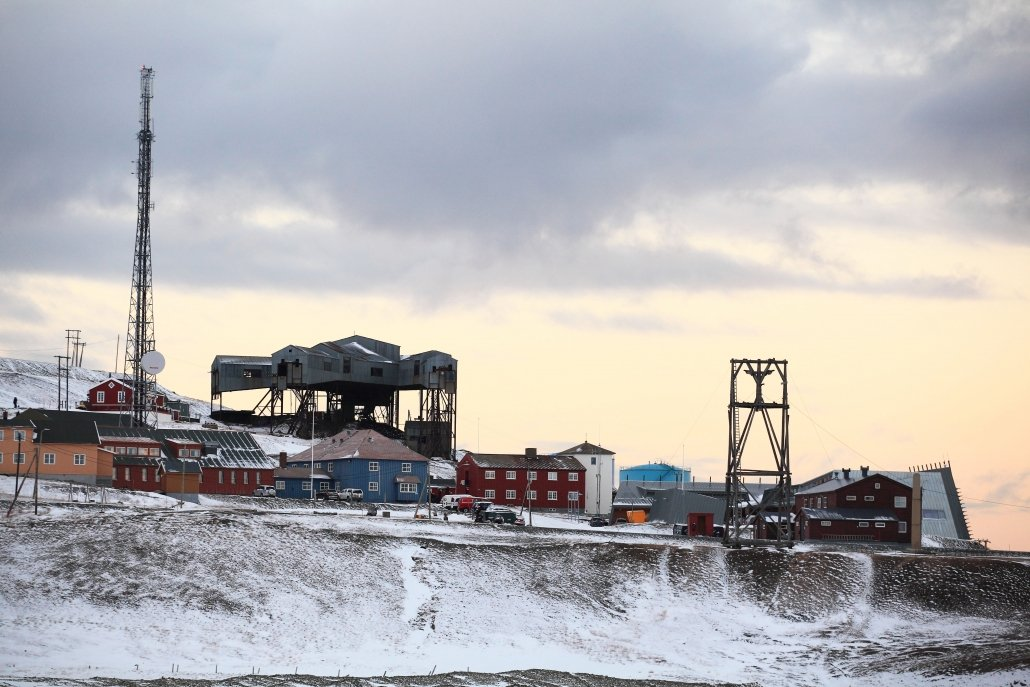 A coal mine at Svalbard