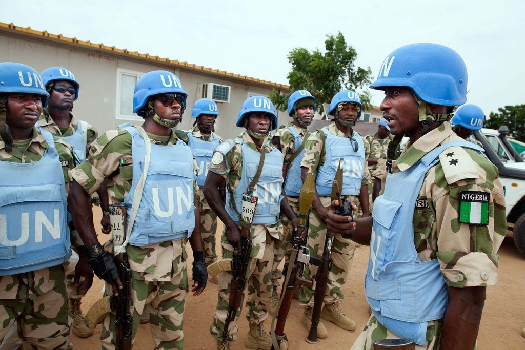 Nigerian UN peacekeepers