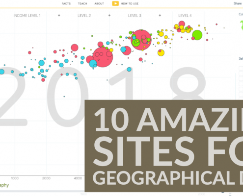 10 amazing sites for geographical data
