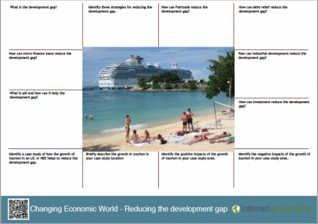 Changing economic world - reducing the development gap