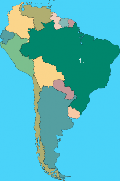 Countries of South America Quiz - Internet Geography on central america map quiz, canada quiz, latin american culture trivia, asia quiz, map skills quiz, map of north america quiz, lesser antilles quiz, spanish countries quiz, general knowledge quiz, south america map quiz, india quiz, venezuela quiz, western hemisphere quiz, south america countries quiz, europe quiz,