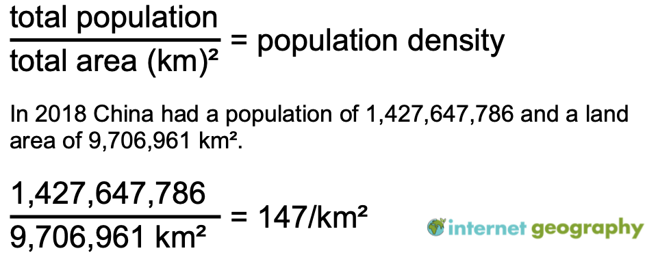 What is population density