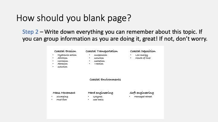 How to blank page 2
