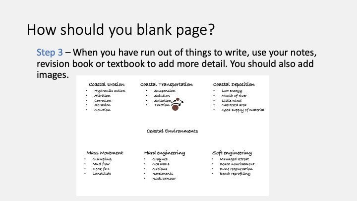 How to blank page 3