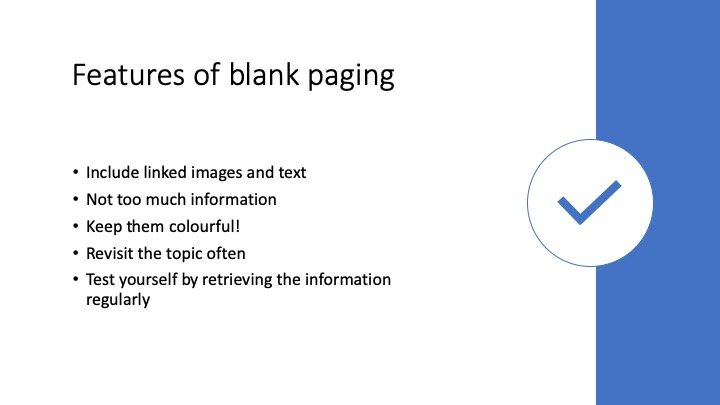 How to blank page 5