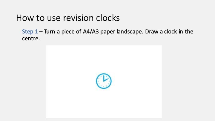 How to use revision clocks 1