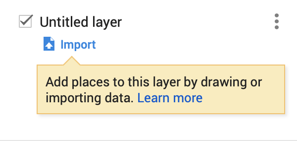 Naming a layer