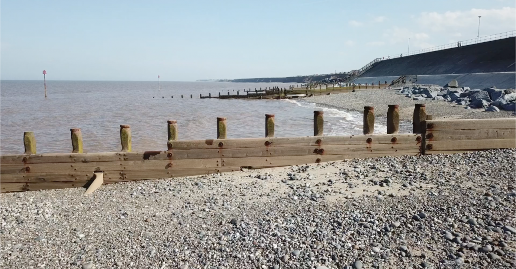 Groynes at Withernsea
