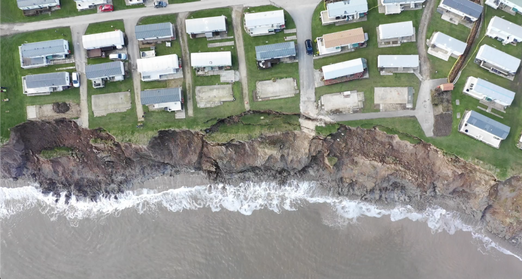 Hornsea view from above