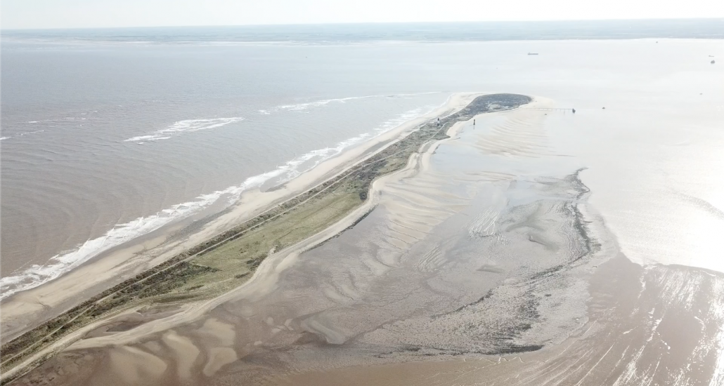 Spurn Point fly over