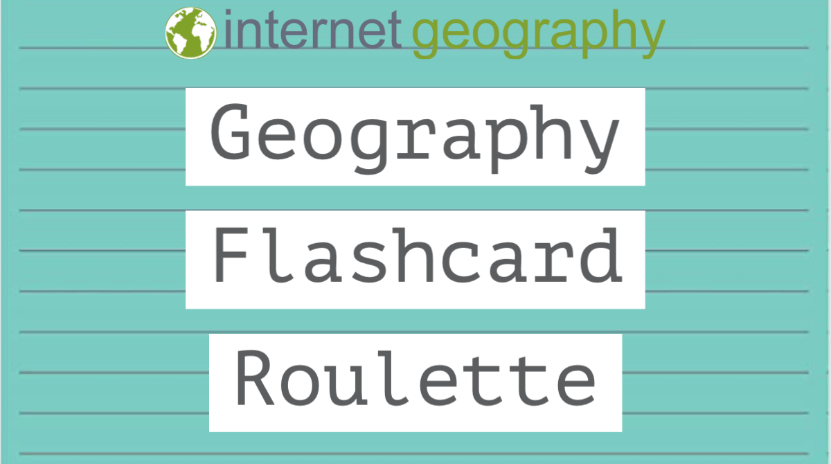 Geography Flashcard Roulette