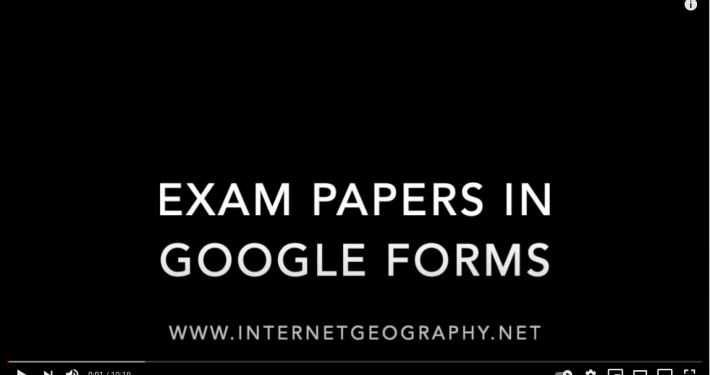 Exam Papers in Google Forms