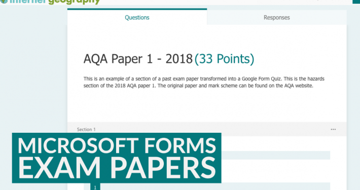 Microsoft Forms Exam Papers