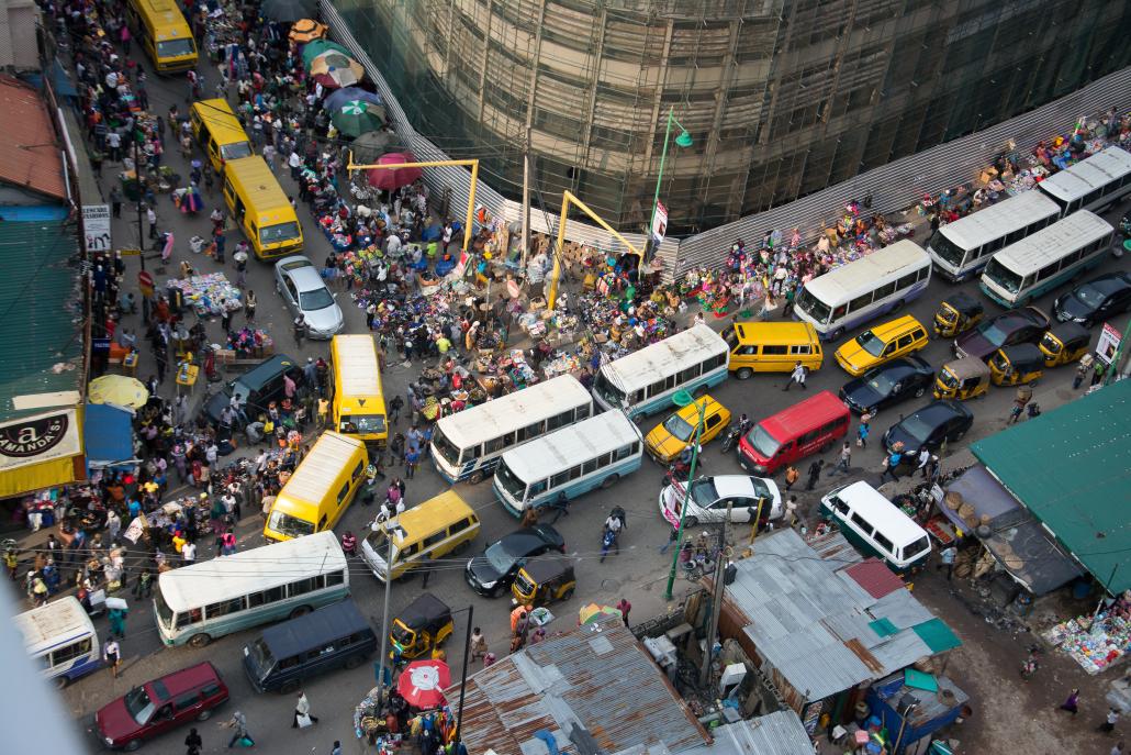 Traffic congestion in Lagos