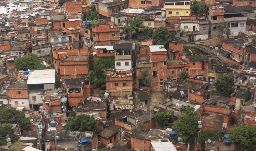 Complexo do Alemão in Rio de Janeiro Brazil