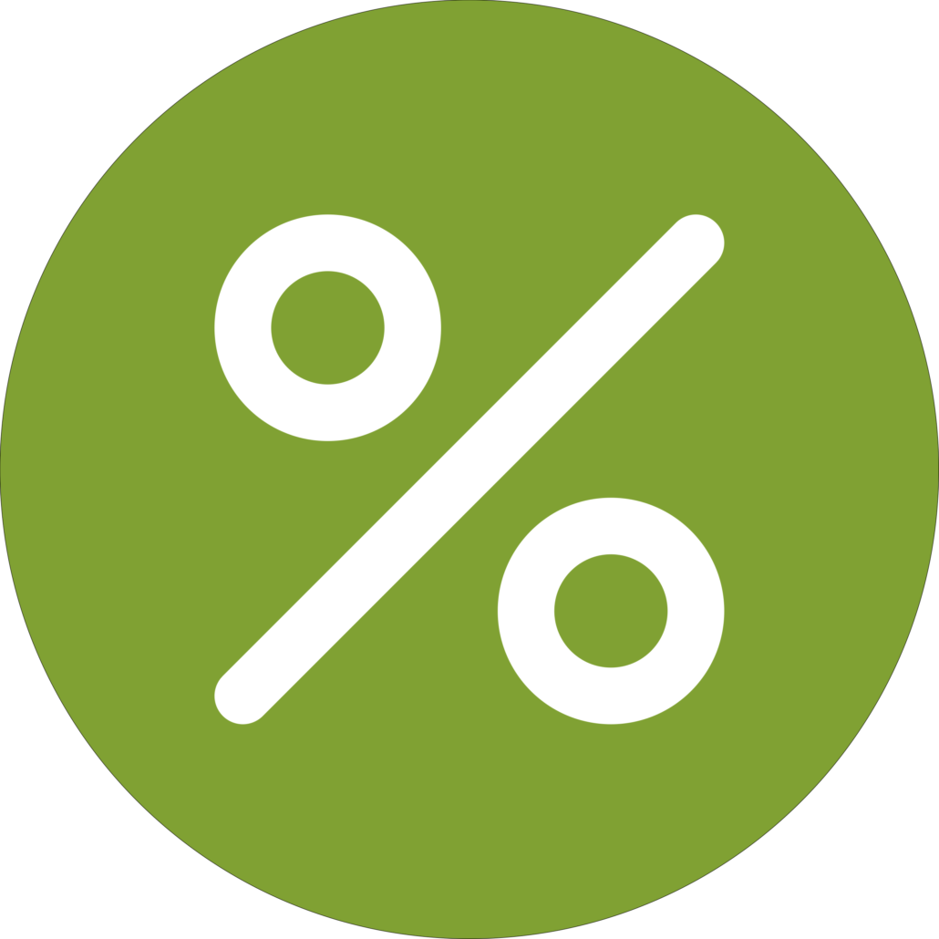 Percentage Change Icon